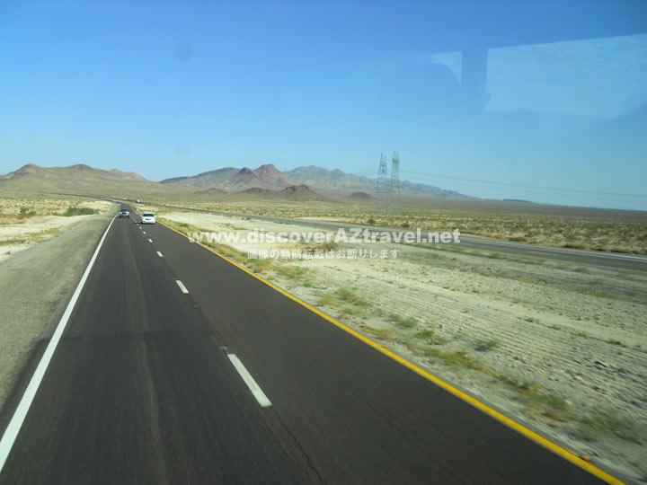 ラスベガスからグランドキャニオンまでのドライブ