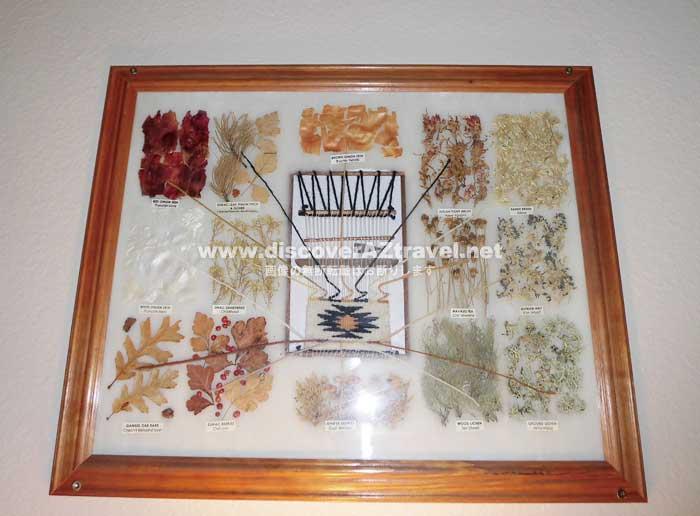 THE VIEW HOTEL のホテル内にあったナバホ族の飾り物